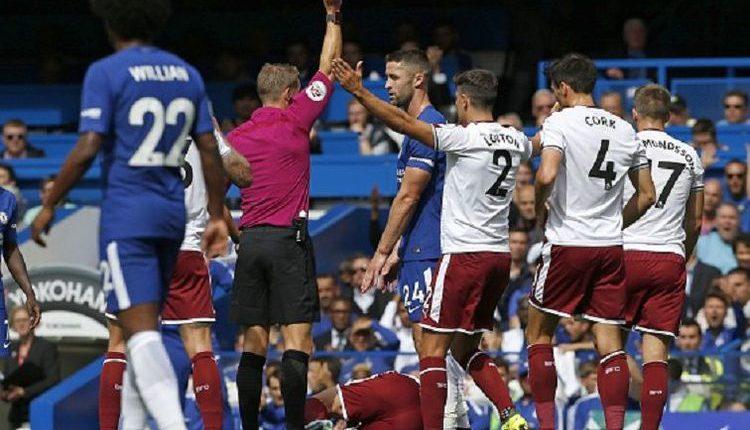 """Chelsea 2-3 Burnley , """" 2 Kartu Merah Warnai Kekalahan Chelsea """""""