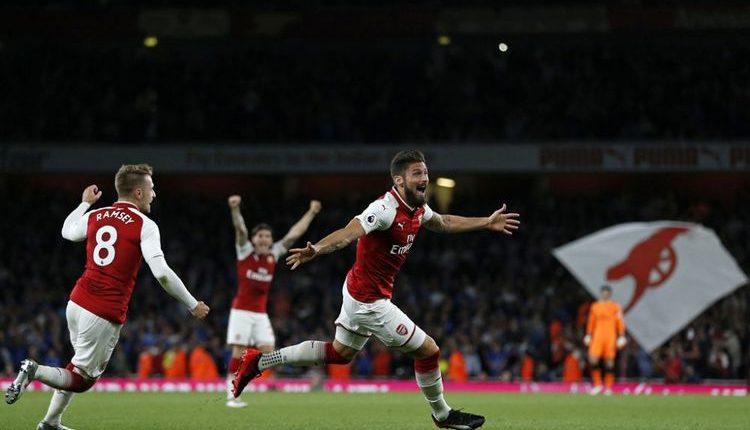 """Arsenal 4-3 Leicester City """" Hasil Liga Inggris, Arsenal Tekuk Leicester Setelah 2 Kali Tertinggal """""""