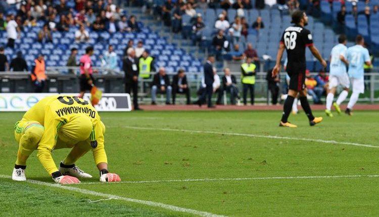 "Hasil Liga Italia : LAZIO 4-1 AC MILAN "" AC Milan Kalah Telak di Kandang Lazio """