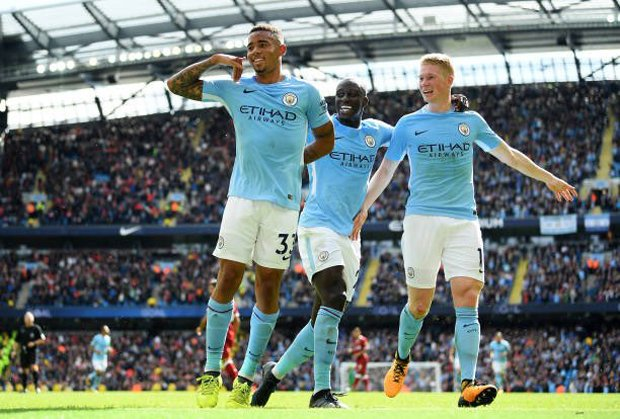 "Manchester City 5-0 Liverpool "" Manchester City Cukur 10 Pemain Liverpool """