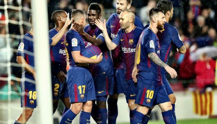 "Hasil Liga Spanyol : Barcelona 2-1 Sevilla "" Messi Nirgol pada Partai Ke-600 bersama Barcelona """