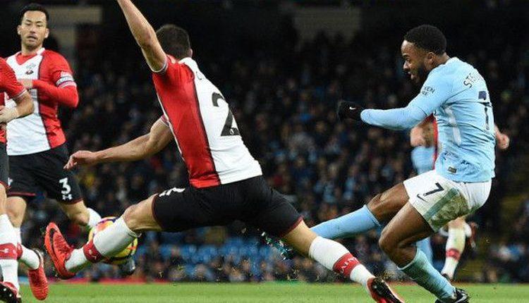 "Hasil Liga Inggris : Manchester City 2-1 Southampton "" Man City Kembali Perlebar Jarak Dengan Man United """