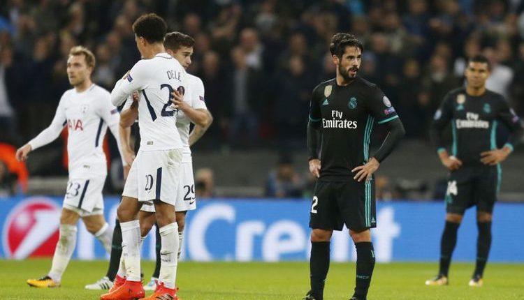"""Hasil Liga Champions : Tottenham Hotspur 3-1 Real Madrid """" Tottenham Lolos Setelah Kalahkan Real Madrid """""""