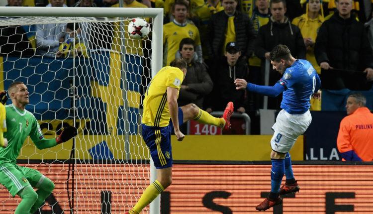 """SWEDIA 1-0 ITALIA """" Jakob Johansson Memperberat Langkah Italia Menuju Piala Dunia """""""